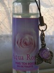 「Aqua Rose」ラベル