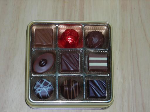 ファンシーチョコレート(中味)