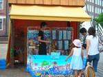 ファントマティーコ屋台(魚釣りゲーム)