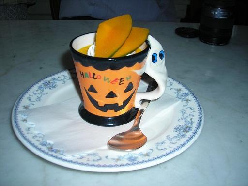 2010ハロウィン かぼちゃプリン